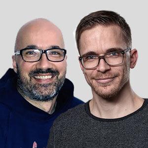 Speaker - Sebastian Kirchen und Sascha Garcia